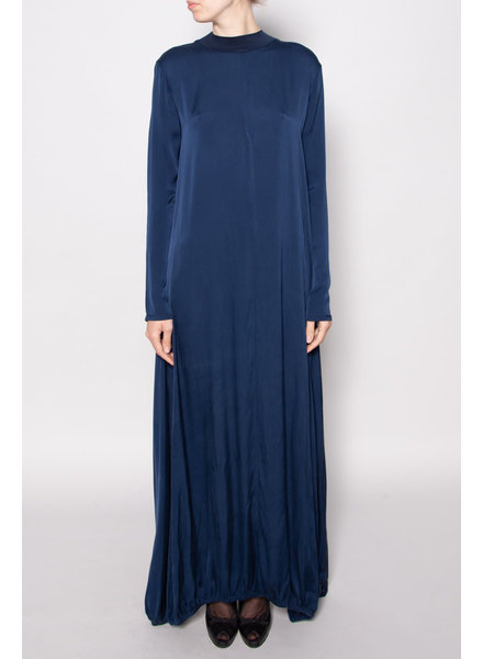 Marie Saint Pierre NAVY LONG DRESS