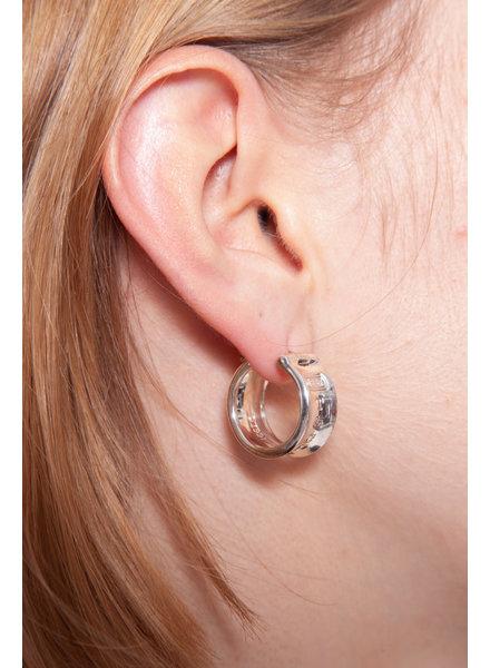 Tiffany & Co. SILVER EARRINGS - NEW