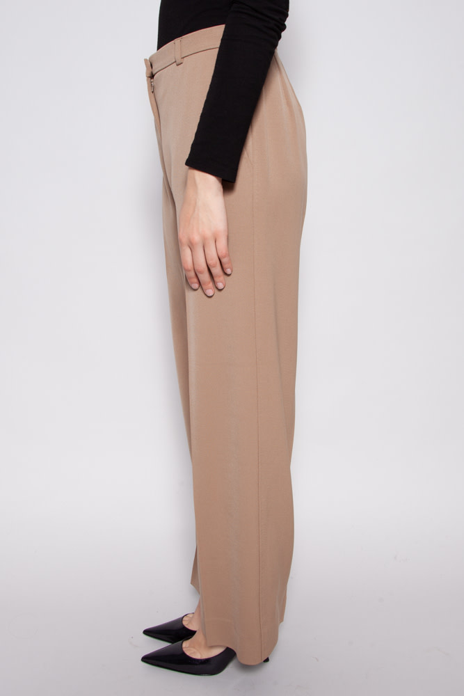 MaxMara CAMEL WIDE LEG TROUSERS
