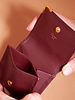 Cartier  BURGUNDY LEATHER WALLET - NEW