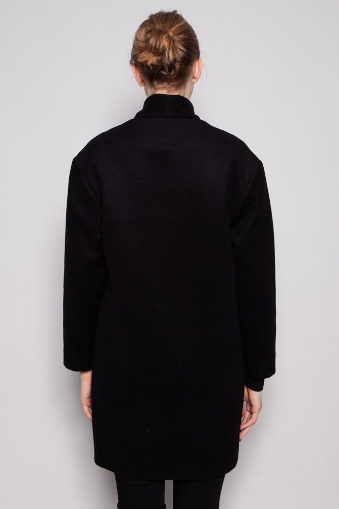 Francois Beauregard LONG BLACK COAT