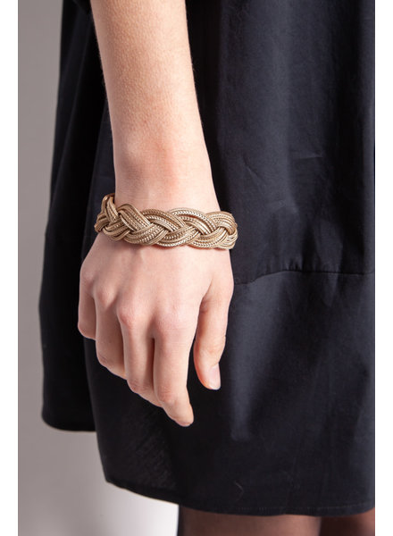 Chanel GOLDEN BRAIDED MESH BRACELET