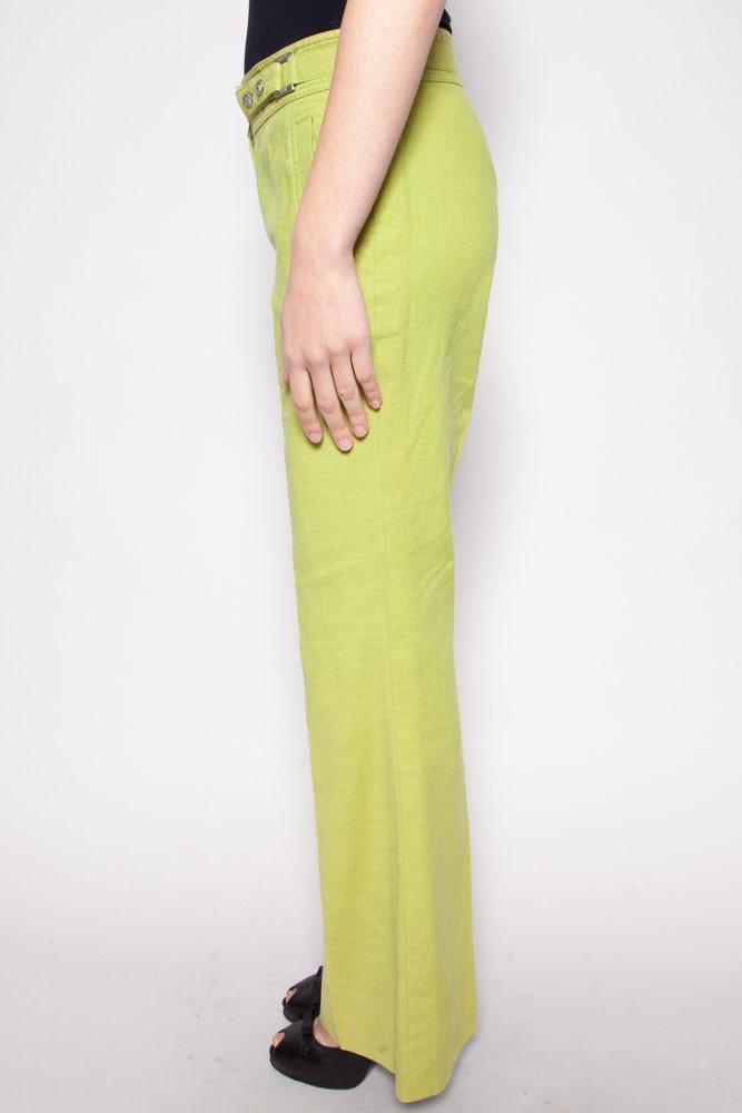 Versace APPLE GREEN PANTS