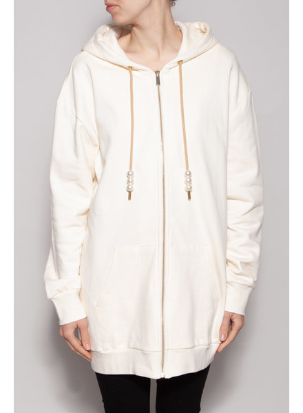 Notes du Nord HOODED CREAM JACKET - NEW WITH TAG