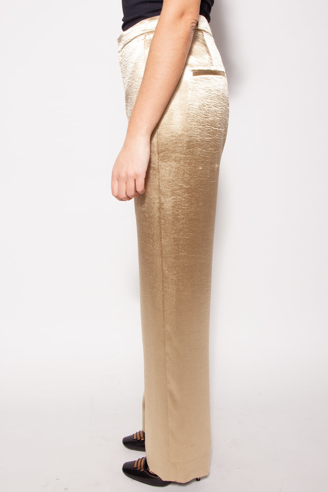 Vince GOLD WIDE LEG TROUSERS - NEW WITH TAG