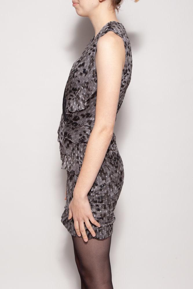 Iro GRAY SLEEVELESS DRESS - NEW WITH TAG