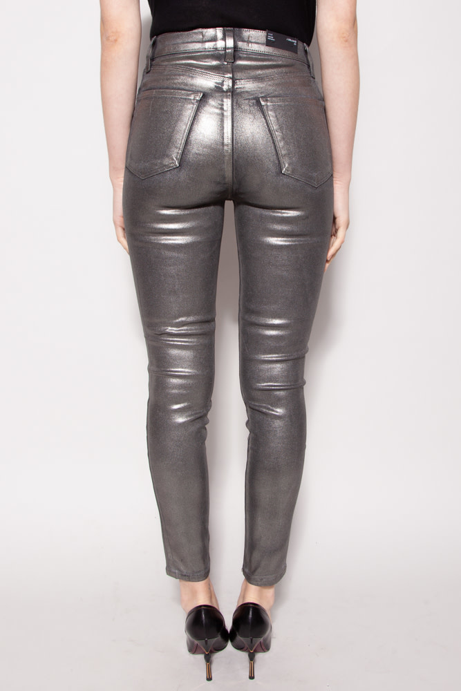 J Brand NEW PRICE (WAS $140) - SILVER SHINY PANTS - NEW
