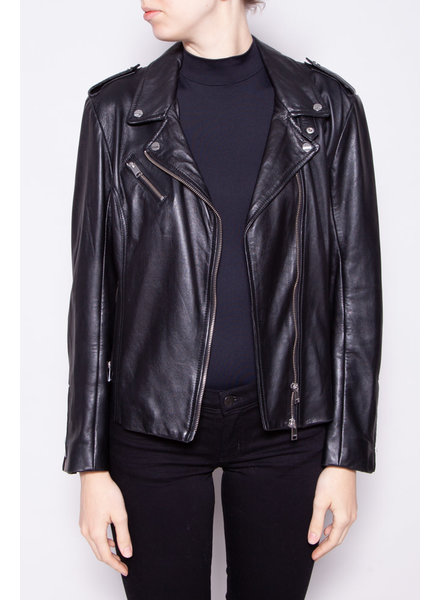 Lamarque BLACK LEATHER PERFECTO
