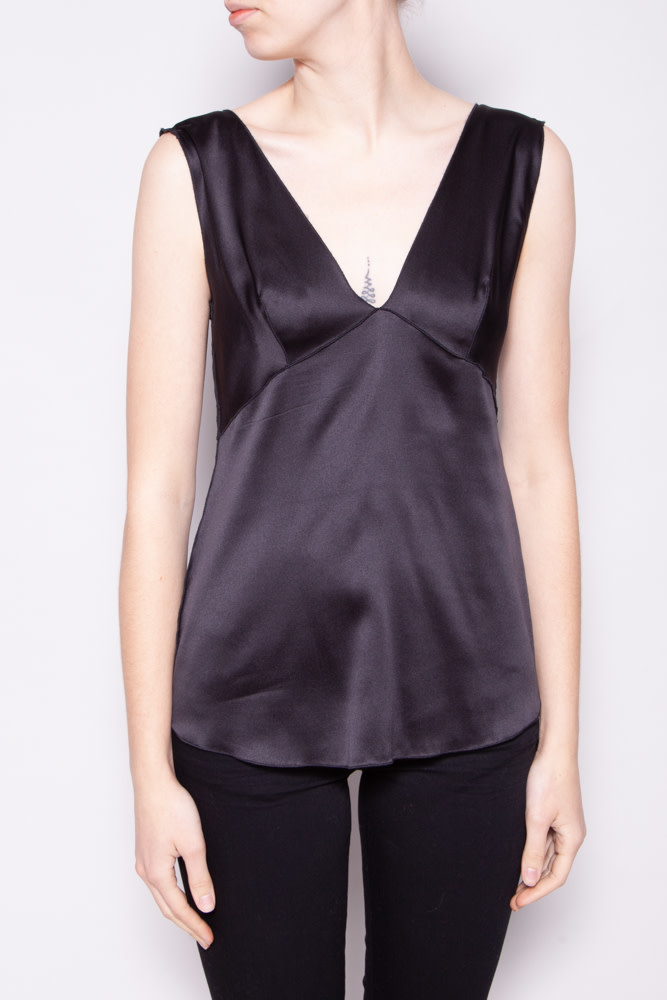 Dolce & Gabbana BLACK SLEEVELESS TOP