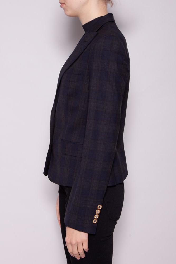Dolce & Gabbana BLACK CHECKED JACKET
