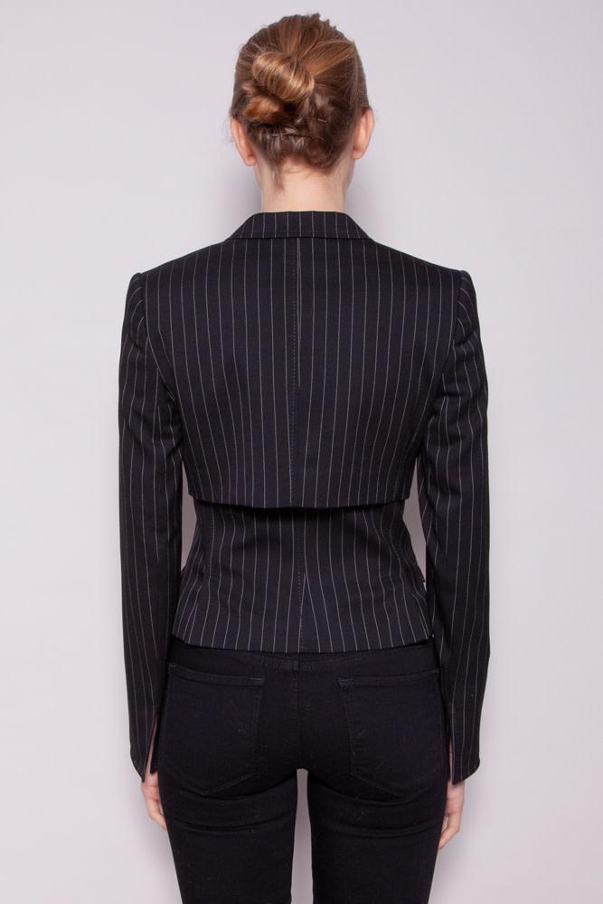 Dolce & Gabbana BLACK & WHITE STRIPED BLAZER