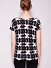 Weekend Max Mara HOUNDSTOOTH PRINT TOP