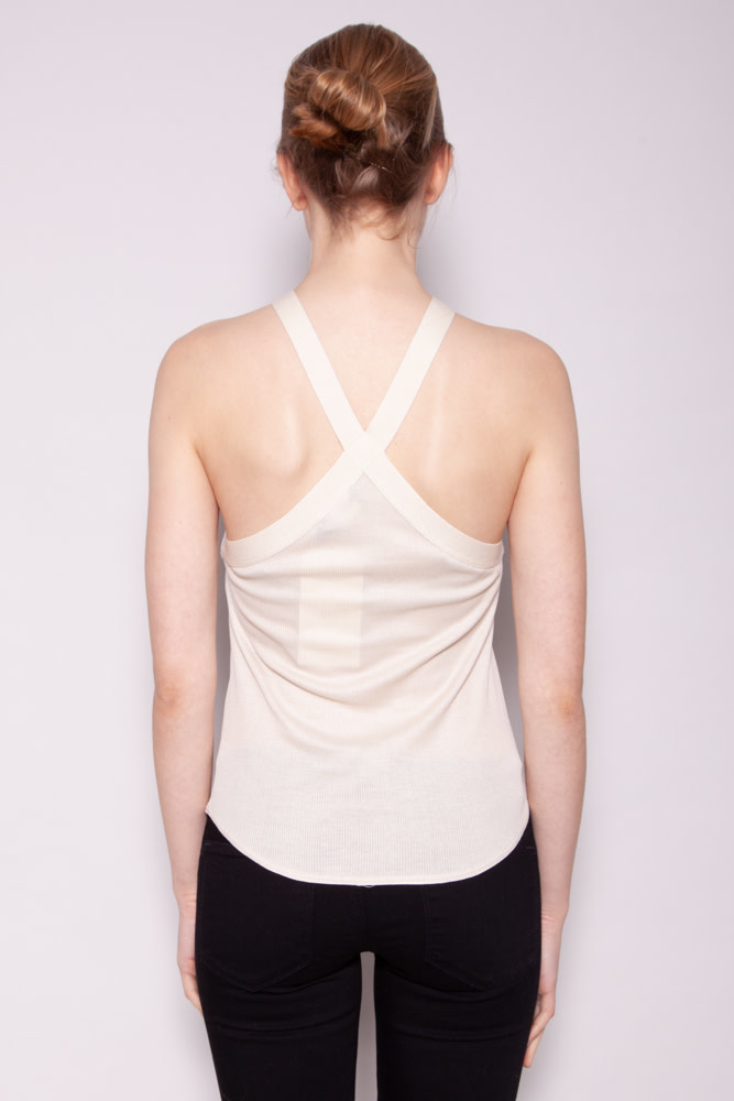 Giorgio Armani BEIGE SLEEVELESS TOP