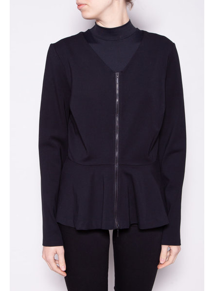 Armani Exchange BLACK PÉPLUM JACKET