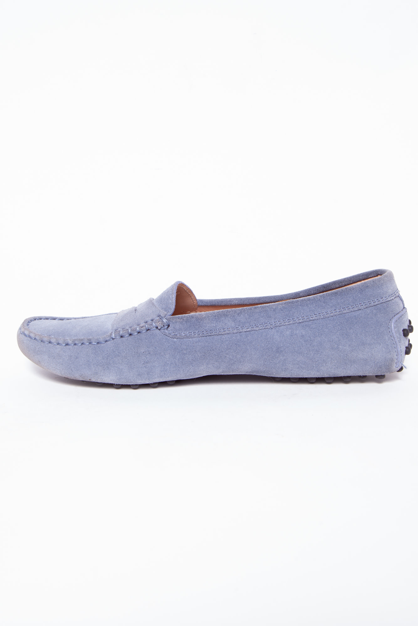 TOD'S BLUE-GRAY LOAFERS