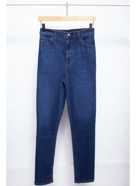 J Brand BLUE EXTRA HIGH WAISTED JEANS - NEW