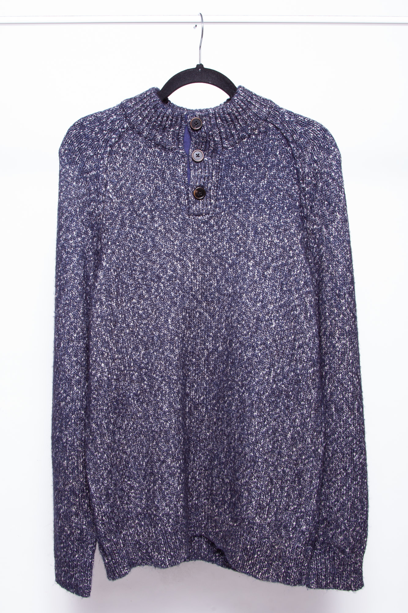 Rails BLUE AND WHITE KNITTED SWEATER - NEW - FOR MEN