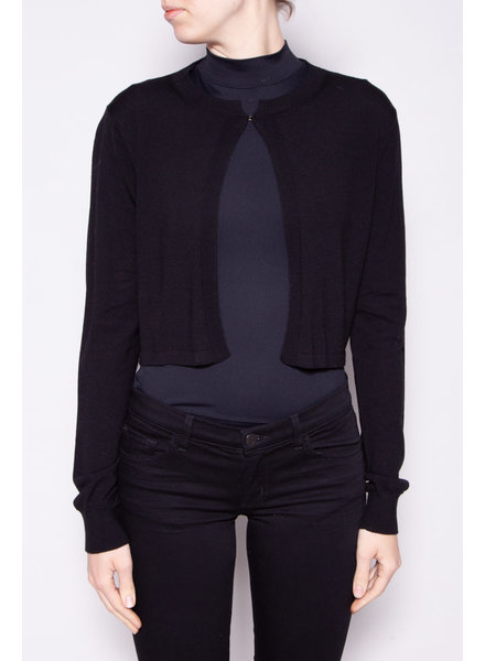 Sportmax NEW PRICE (WAS $130) - BLACK WOOL CARDIGAN - NEW WITH TAGS