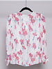 Reiss WHITE FLORAL PRINTED SILK BLOUSE - NEW WITH TAGS