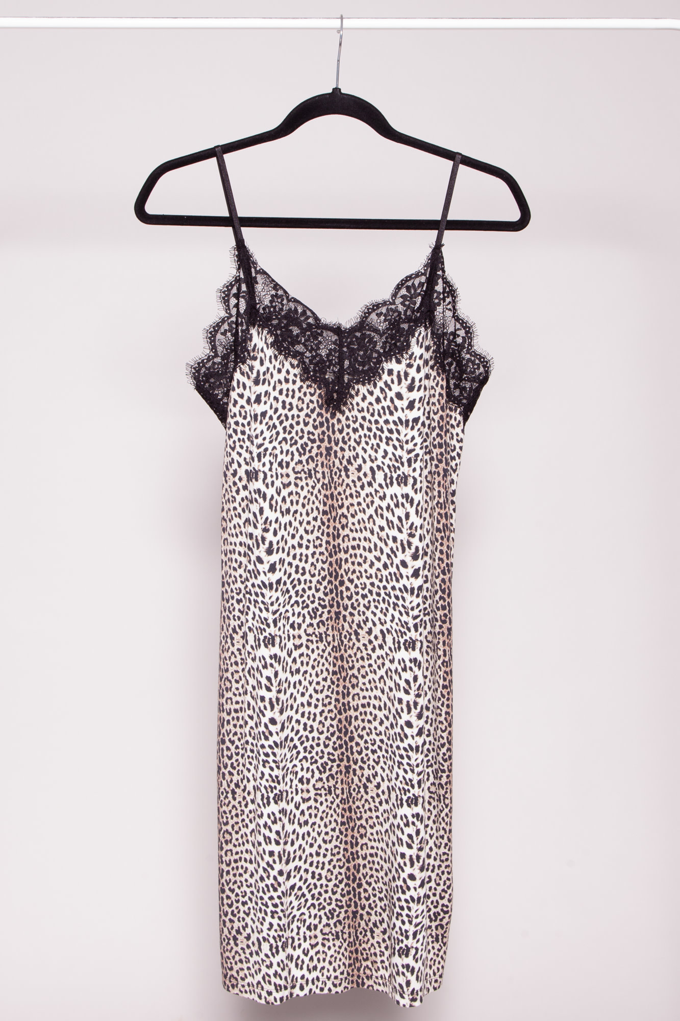 Notes du Nord LEOPARD PRINT JERSEY DRESS - NEW WITH TAGS