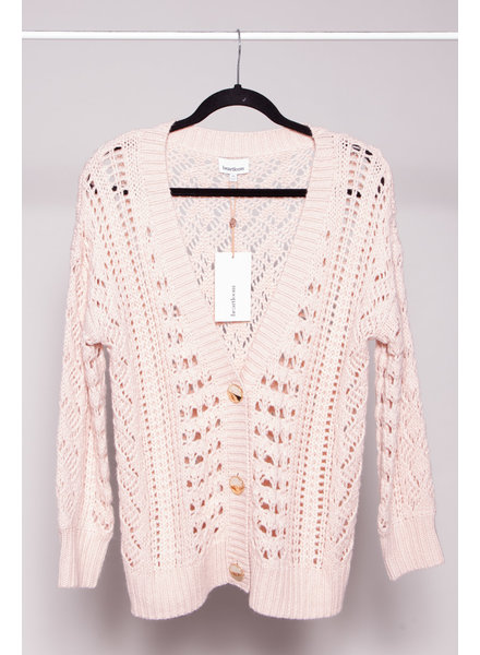 Heartloom PINK KNITTED CARDIGAN - NEW WITH TAGS