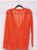 Heartloom ORANGE KNITTED CARDIGAN - NEW WITH TAGS