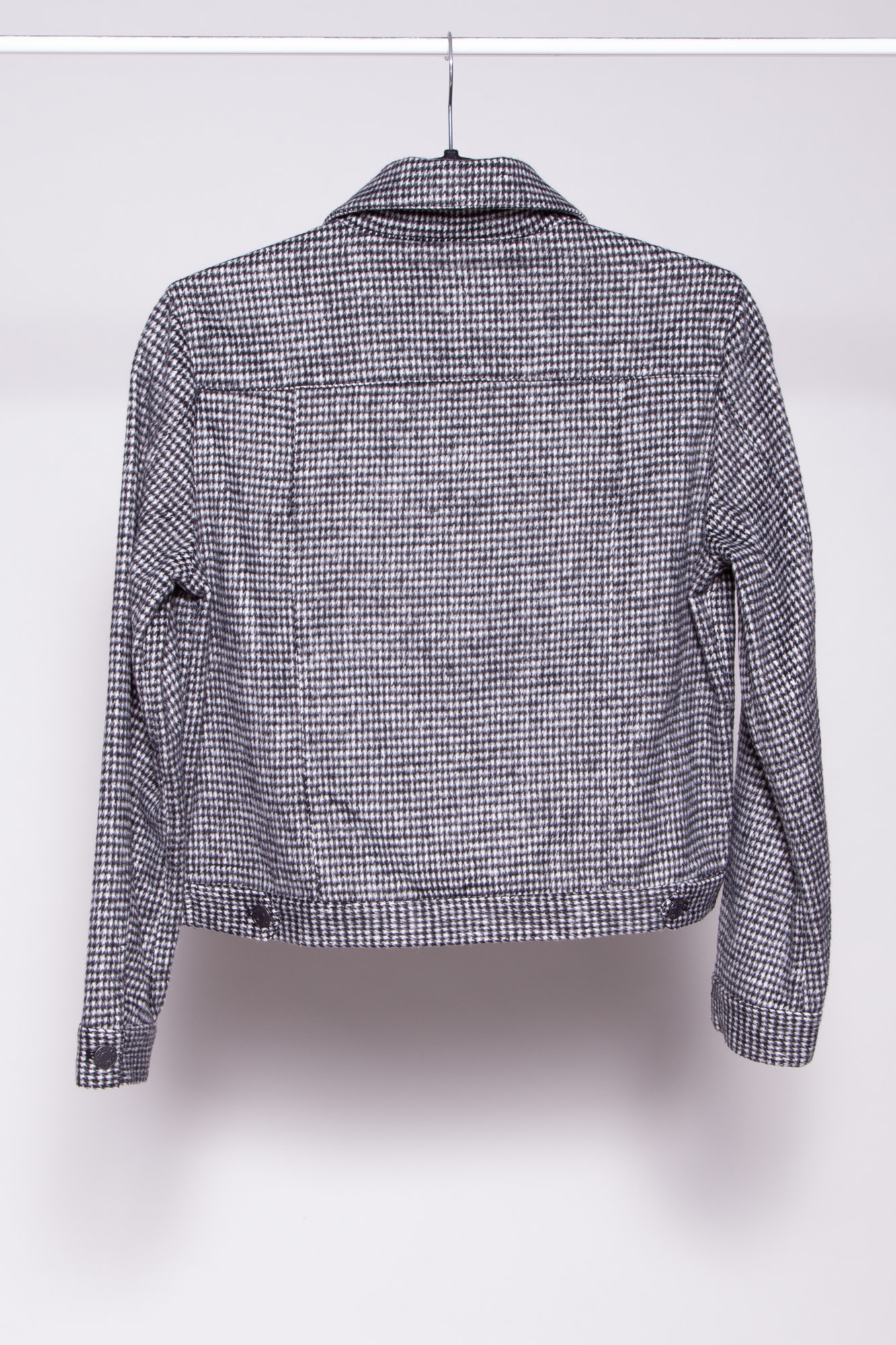 Rails STEFFI HOUNDSTOOTH CROPPED JACKET - NEW