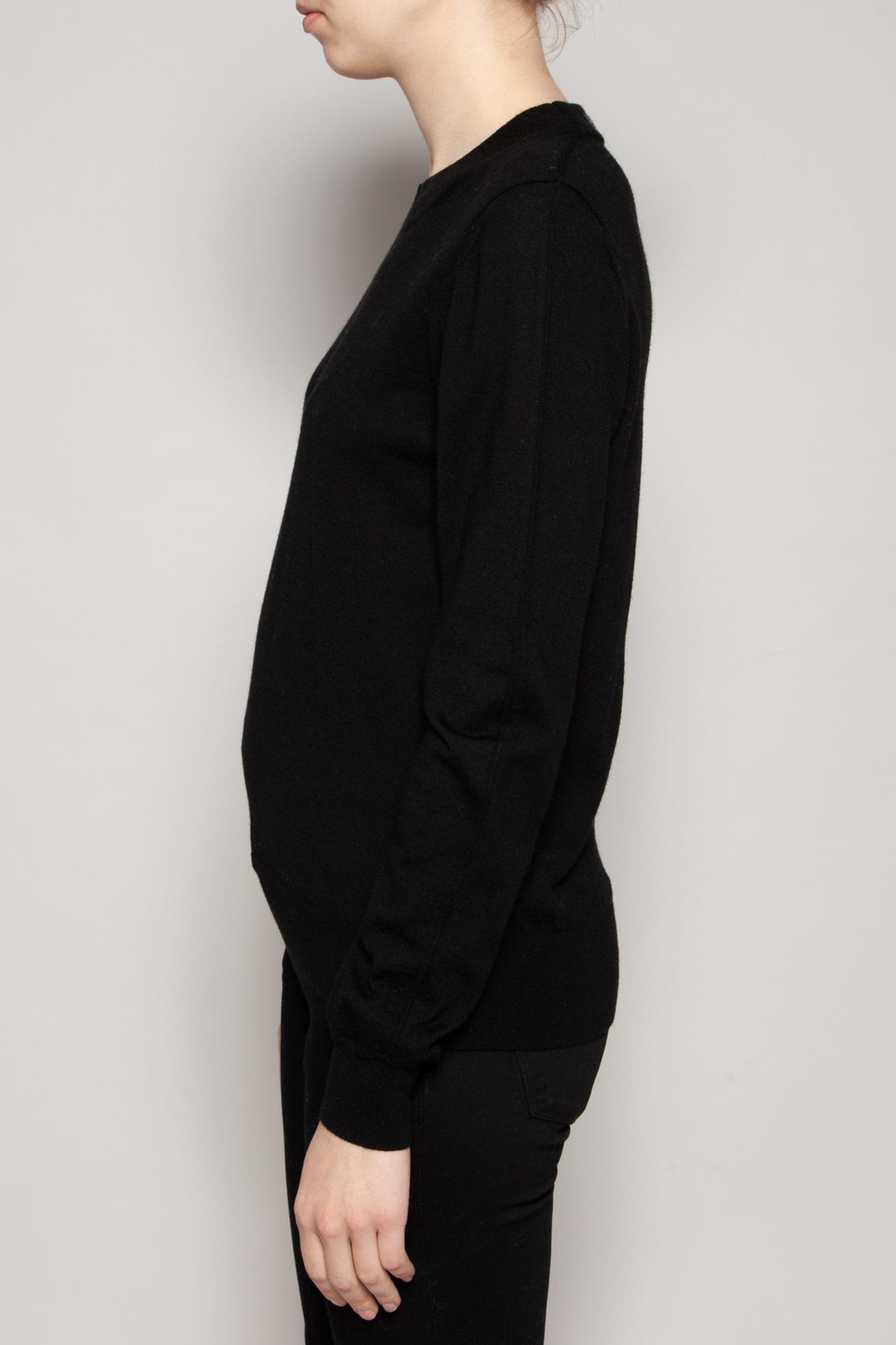 Burberry BLACK WOOL SWEATER