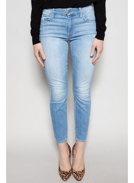 Mother PALE BLUE ''THE LOOKER'' JEANS