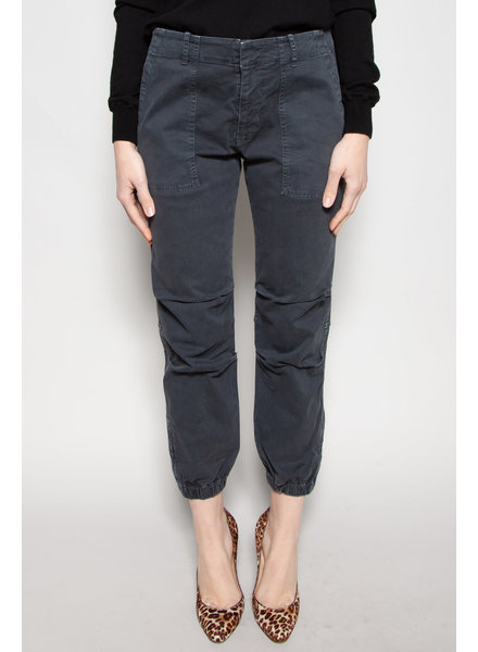 Nili Lotan CHARCOAL GREY MILITARY PANTS