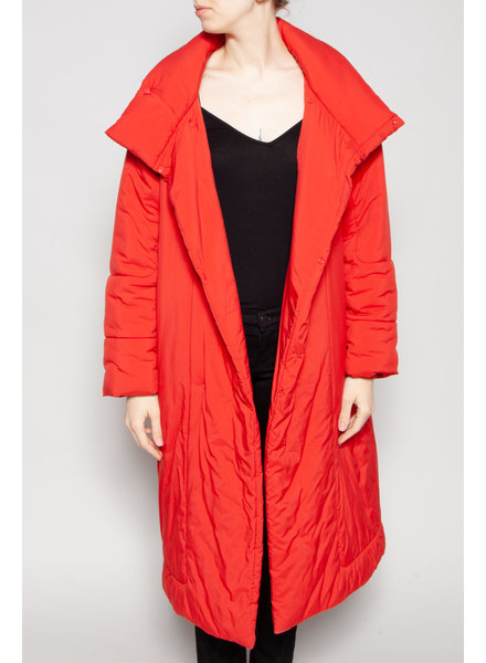 The Animal Observatory RED PUFFER COAT