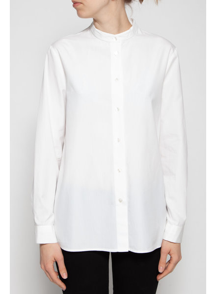 Dolce & Gabbana CHEMISE BLANCHE À COL MAO