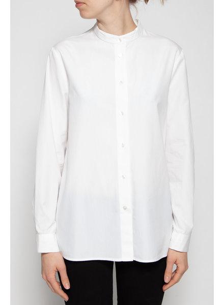 Dolce & Gabbana WHITE MANDARIN COLLAR SHIRT