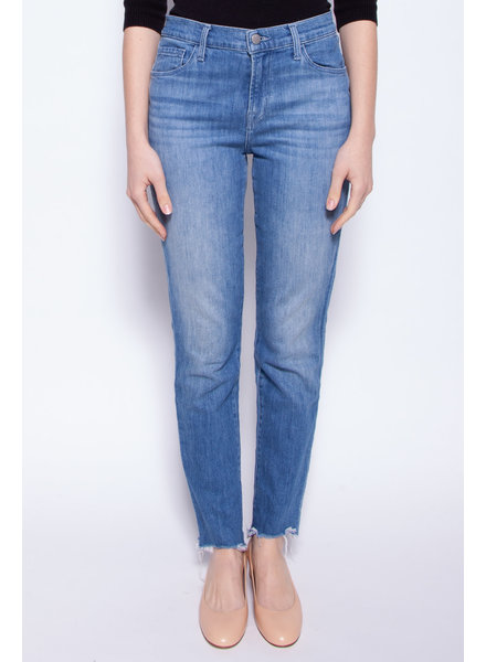 J Brand BLUE HIGH RISE ''RUBY'' JEANS