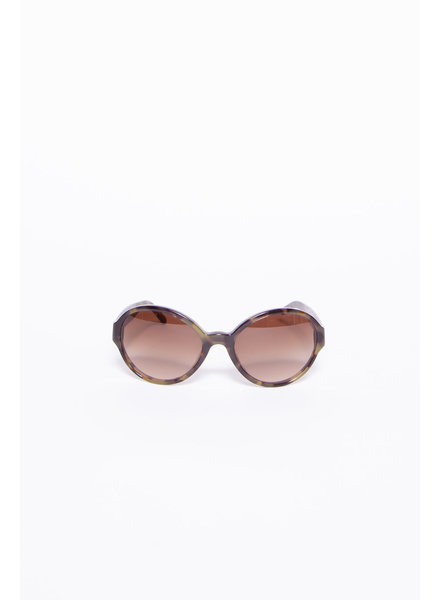 Burberry TORTOISE-EFFECT SUNGLASSES