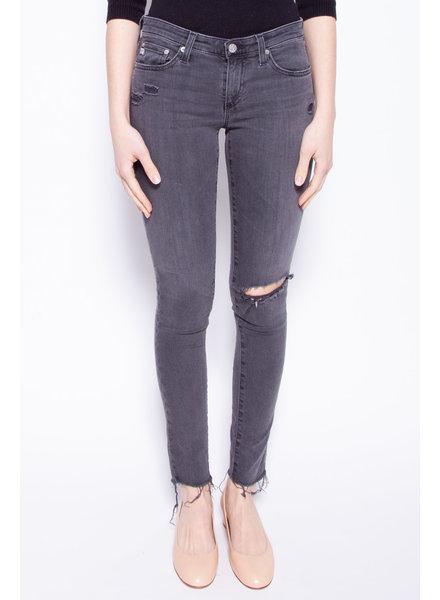 AG Jeans JEANS GRIS CHARBON EFFET USÉ