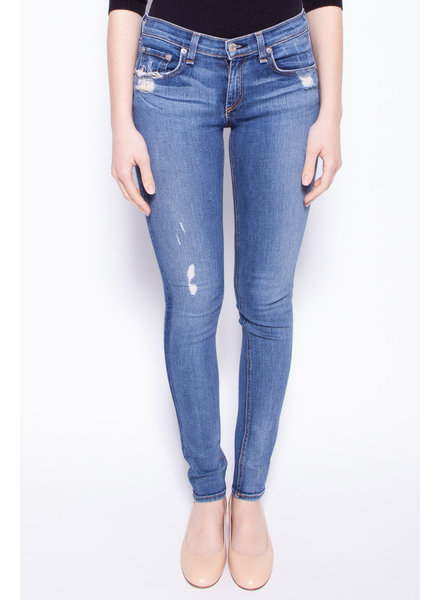 Rag & Bone BLUE WEAR-EFFECT JEANS