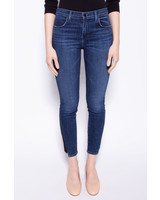 J Brand BLUE JEANS WITH SUEDE INSERTS