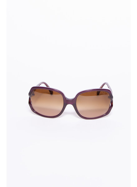 Marni PURPLE FRAME SUNGLASSES