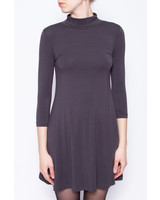 Demande Générale GREY CHARCOAL TURTLE NECK DRESS - NEW WITH TAGS