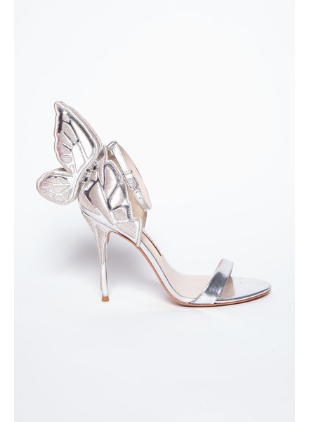 Sophia Webster SILVER PUMPS WITH WINGS