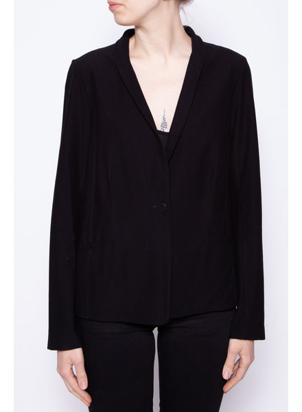 Eileen Fisher VESTON NOIR LÉGER