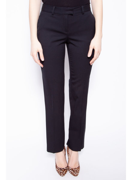 Burberry London PANTALON NOIR FAIT DE LAINE
