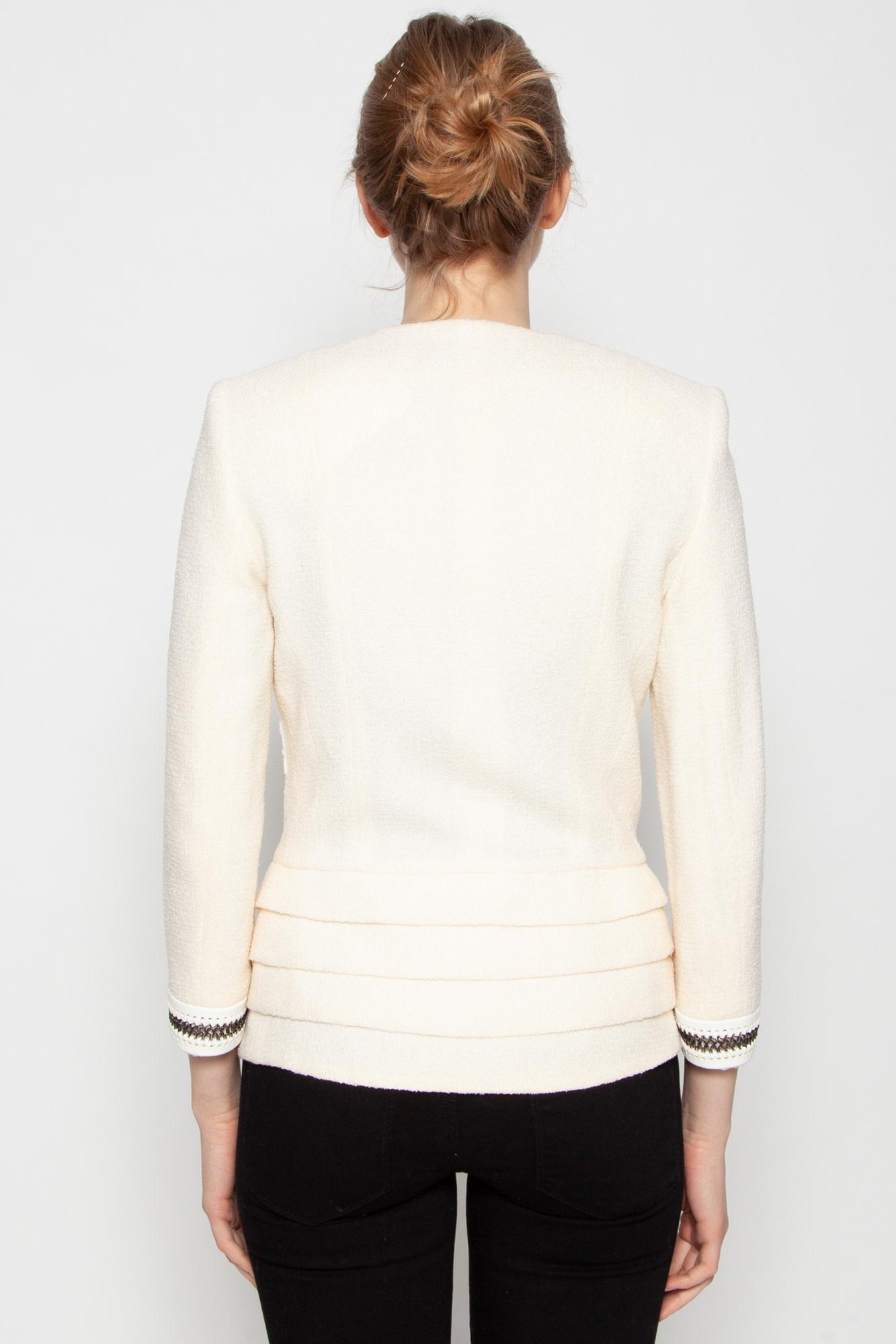 Christian Dior OFF-WHITE  LACE BLAZER