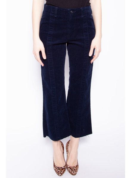 AG Jeans DARK BLUE CORDUROY TROUSERS - NEW WITH TAGS