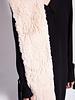Christian Dior PINK DIORISSIMO RABBIT FUR STOLE