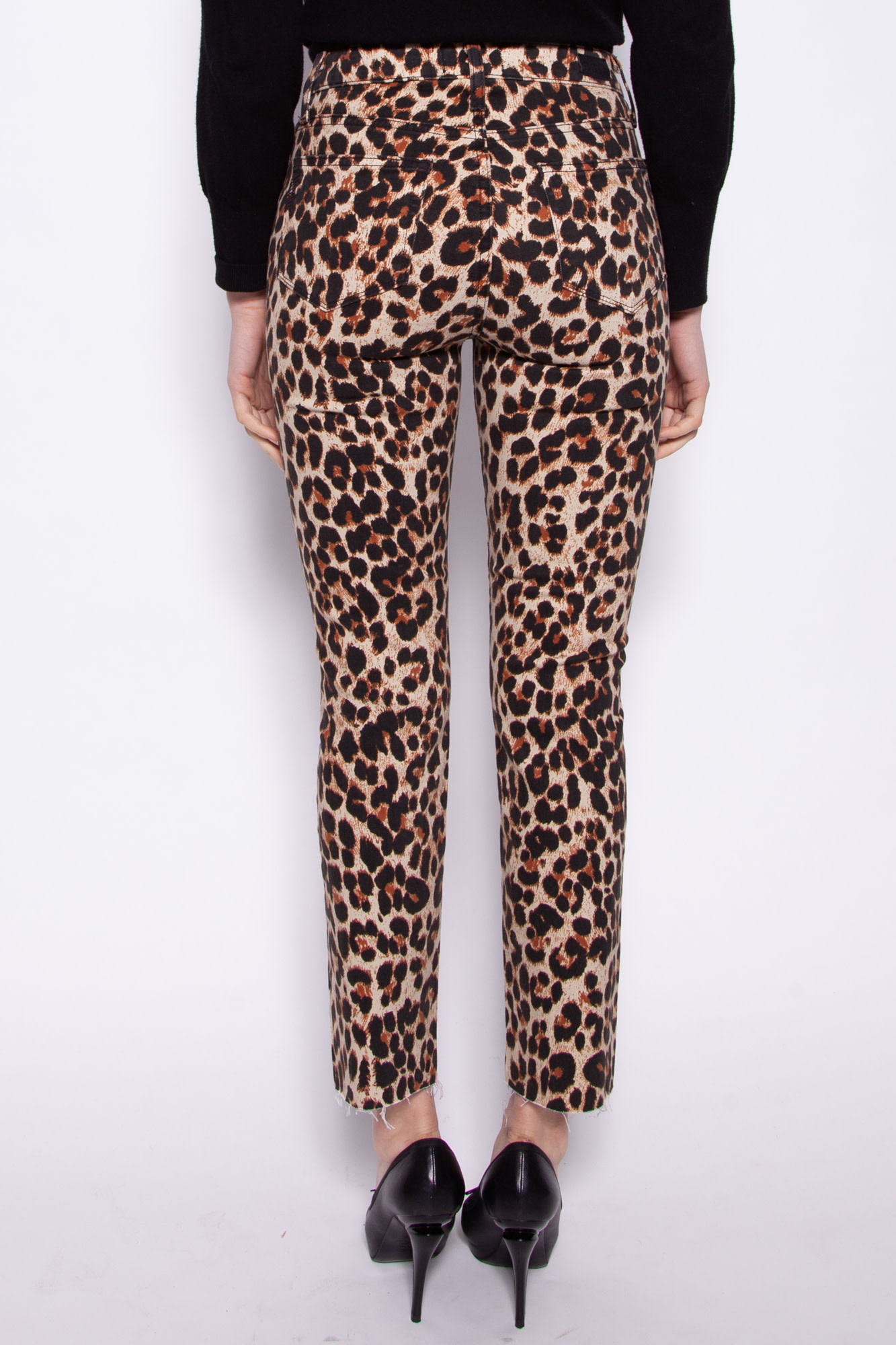 Paige CHEETAH PRINT PANTS - NEW WITH TAGS - (SIZE 25 - 28 -29)