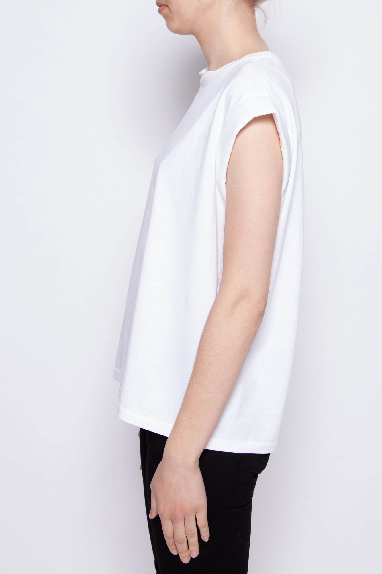 Notes du Nord WHITE T-SHIRT - NEW WITH TAG