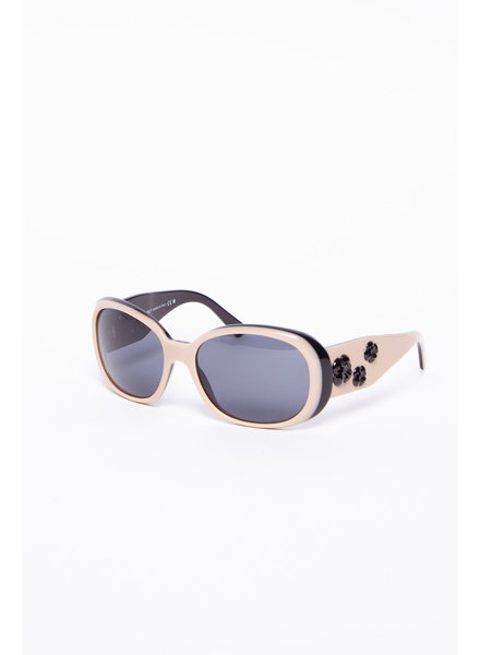 Chanel BLACK AND BEIGE 5113 GLASSES