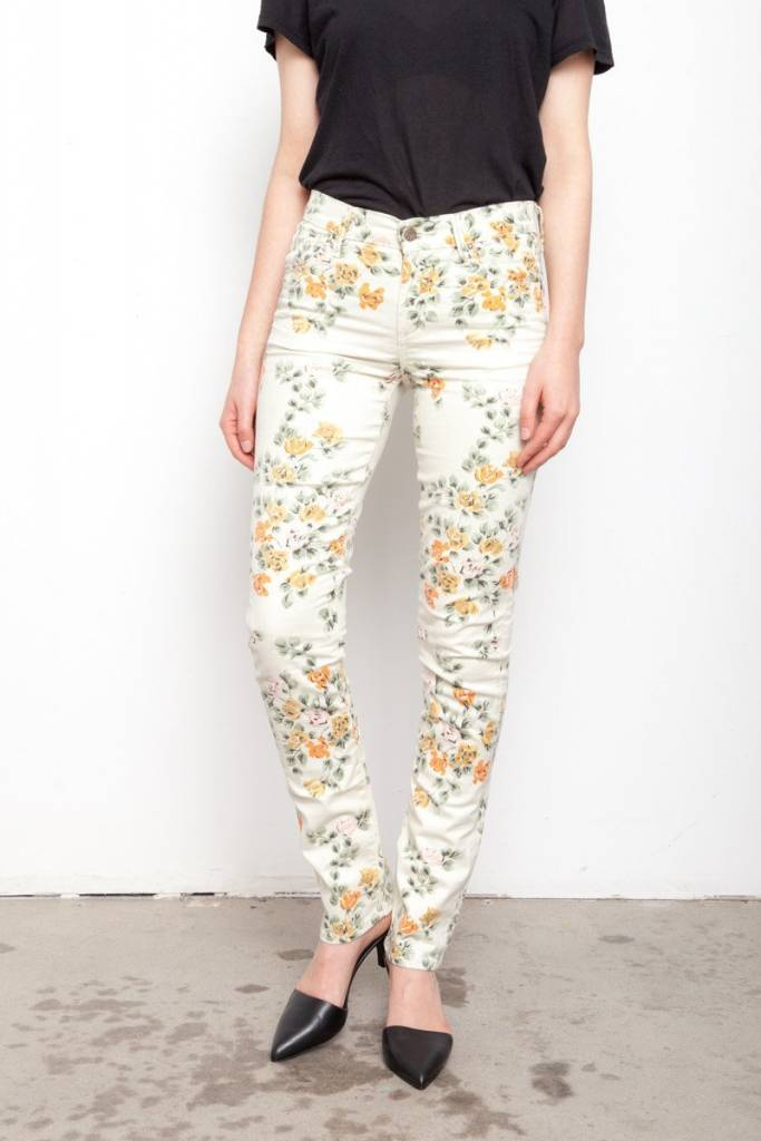 Citizens of Humanity Floral Skinny Jeans